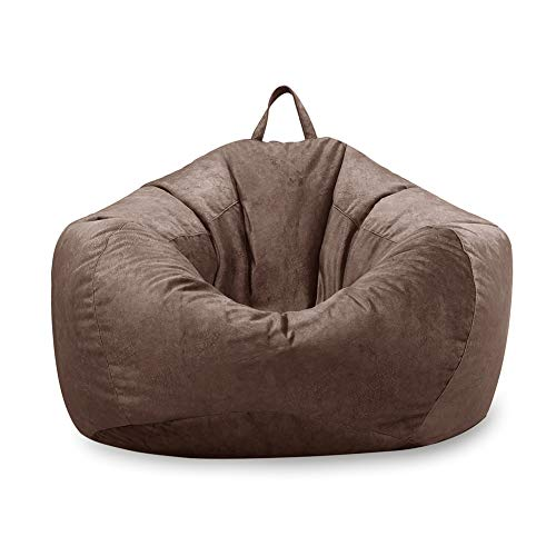 MFTEK Bean Bag Chair Cover Only, Large Washable Memory Foam...
