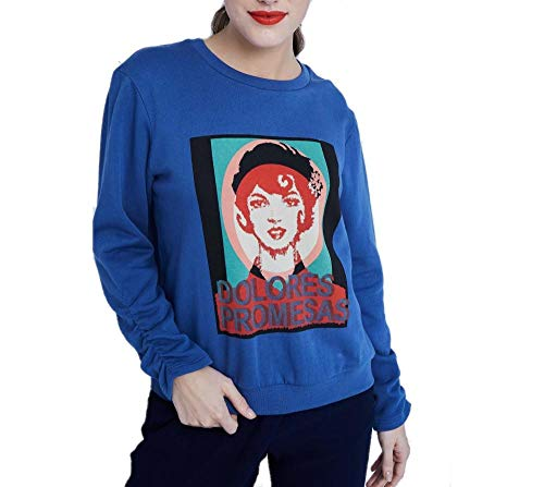 Dolores Promesas 107239 Camiseta, Azul (Azul Azul), Small (Tamaño del Fabricante:S) para Mujer
