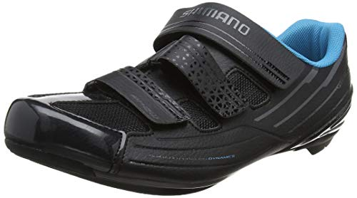 SHIMANO Women's RP2W SPD-SL Cycling Shoe, Black, EUR 40