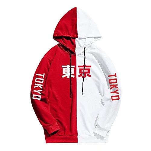 Japón Harajuku Tokyo City Sudadera Hip Hop Casual Sudaderas con Capucha - Anime clásico Tokyo Ghoul Hoodies Otoño Moda Pareja Disfraz Sudadera con Capucha