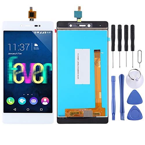 Tangjiang - Accesorios de teléfono para Wiko Fever 4G (incluye pantalla LCD y digitalizador)