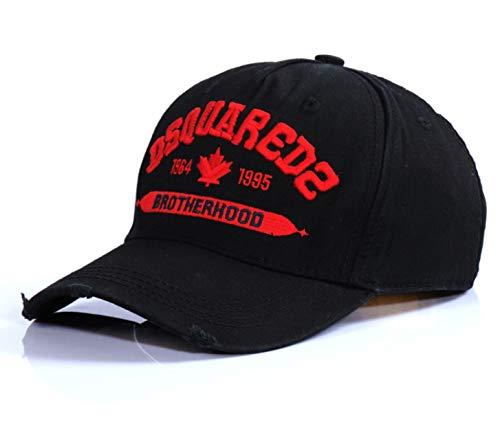 EastvAPS DSQ Baseball Cap aus Baumwolle, bestickt