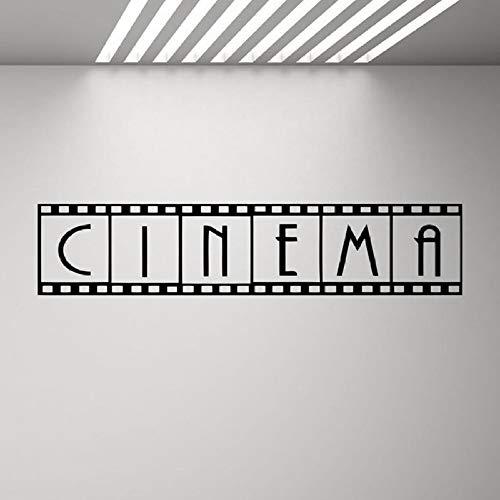 Kino Poster Showtime Kamera Wandbild Filmstreifen Vinyl Aufkleber Wandaufkleber20x92cm