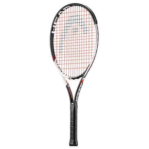 Head 1 Graphene Touch Speed Jr Raquetas de Tenis, Unisex niños, Blanco/Rojo, S10