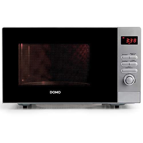 Domo DO 2923 - Microondas sencillos, 800 W, color gris