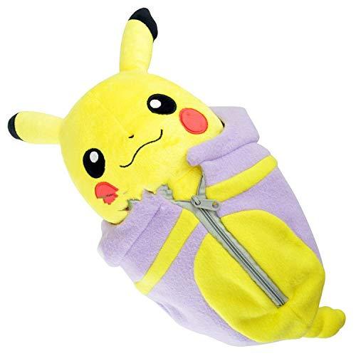 QIANMA Pokemon Plüsch Pokemon Pokemon Pokémon Pokemon Plüschpuppe Spielzeug Schlafsack Pikachu
