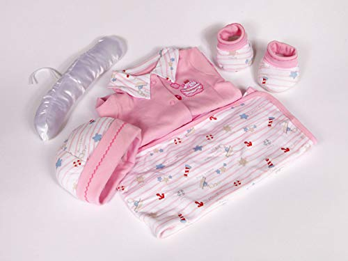 Palm and Pond New Born Baby Geschenk Set Seaside Pink
