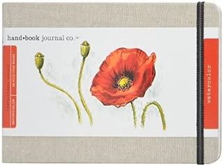 Speedball Travelogue Watercolor Book Artist Journal, Large Landscape, Natural