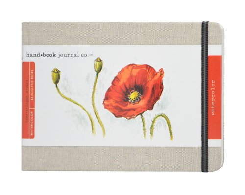 SPEEDBALL ART 769525 ART JOURNAL 5.25X8.2 NAT.LINEN, Large, Landscape - Natural Linen