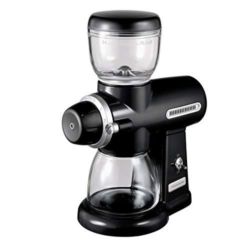 KitchenAid 5KCG0702EOB, ARTISAN koffiemolen met schijfmaalwerk, onyx zwart