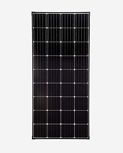 SolarV enjoysolar Panneau solaire monocristallin de haute qualité Idéal pour camping-car, abris de jardin, bateau 180 W