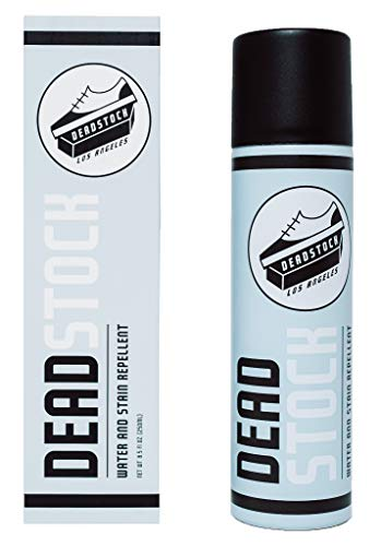 Deadstock Los Angeles Water & Stain Repellent for Shoes 6.5oz Spray - Waterproof Spray to Protect: White Sneakers, Suede, Leather, Mesh, Canvas and More!