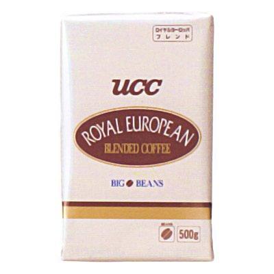 UCC 業務用 ロイヤルヨーロピアンブレンド (豆)AP 500g×12個