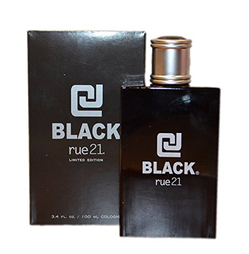 Rue 21 CJ Black Limited Edition Guys Cologne, 3.4 Fl Oz