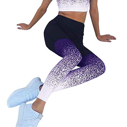 Xiaopeng Pantalones de Yoga Sexis para Mujer, Mallas de Gimnasio, Pantalones Deportivos de Cintura Alta, Mallas de Entrenamiento para Correr, Mallas de Fitness, Mallas de Yoga