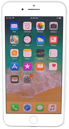 Apple iPhone 8 Plus, 64GB, Silver – For AT&T / T-Mobile (Renewed)