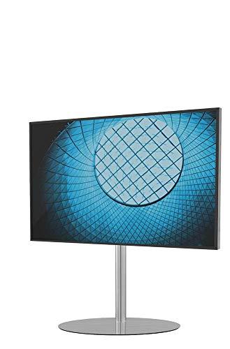 Cavus Eclips 100 Edelstahl Design TV Ständer - Verwandeln Sie Ihren Fernseher in einem Designer TV Möbel - TV Standfuß geeignet für Fernseher mit VESA 200x200-300x300-400x400