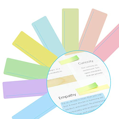 8 Pack Dyslexia Reading Guide Strips with Colored Overlays Reading Rulers 8 Colors