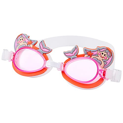 DOSNTO Occhialini da Nuoto Bambini, Occhialini Nuoto Adolescenti in Anticipo da 3 a 15 Anni, Occhiali da Bagno Per Ragazze Ragazzi Ampia Visione, Anti-nebbia, Impermeabile, Protezione UV