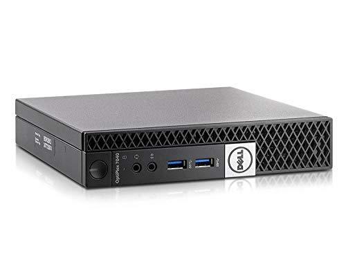 Dell Optiplex 7040 Micro USFF Intel Quad Core i5 256GB SSD Festplatte 8GB Speicher Windows 10 Pro inkl. W-LAN Business Desktop Computer Mini PC (Zertifiziert und Generalüberholt)