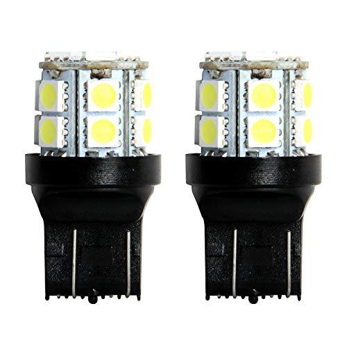 Pilot Automotive (IL-3157W-15-AM) White 15-SMD LED Turn/Tail Light Bulb - 2 Piece
