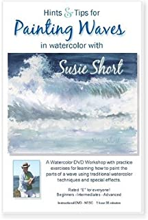 Hints & Tips for Painting Waves in Watercolor with Susie Short