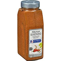McCormick Culinary Peruvian Seasoning blends the warm spiciness of cumin, paprika and chili pepper with a flavorful punch of garlic and subtle lime finish for balanced heat and aromatic quality Kosher with no MSG added Blended especially for chefs, M...