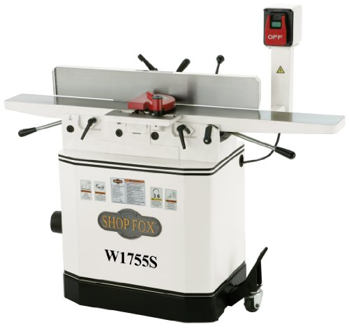 Best Price Shop Fox W1755S 6-Inch Jointer With Spiral Cutterhead