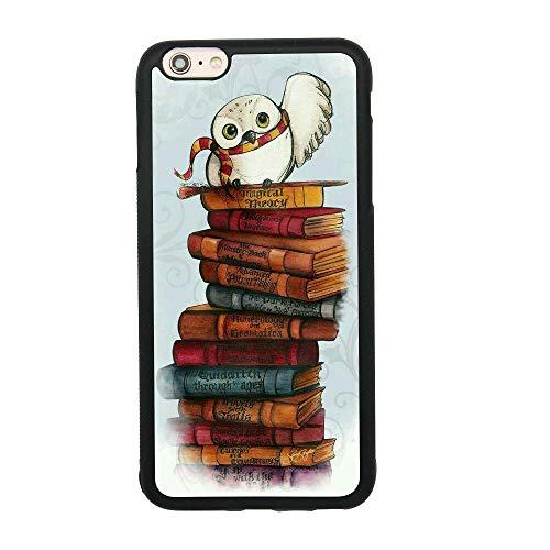 Custodie per cellulari nere per iPhone 12/12 Pro Max 12 mini 11 Pro Max SE X XS Max XR 8 7 6 6s Plus Custodie Owl Hedwig Harry Potter Custodia protettiva in silicone TPU