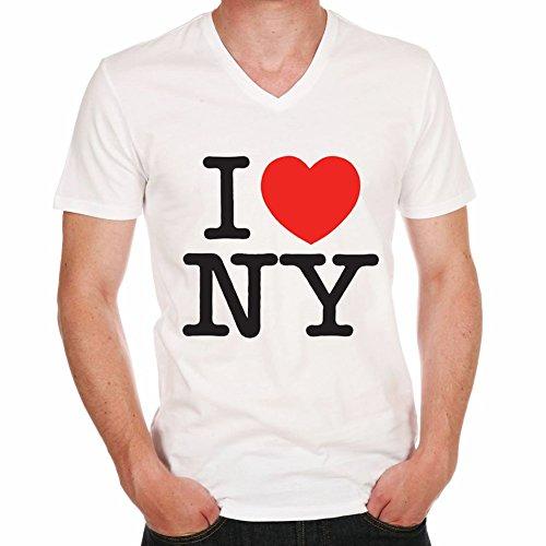 One in the City I Love New York NYC Gift Boy:T-Shirt,Cadeau,Homme,cŽlŽbritŽ,Blanc,XXXL,t Shir