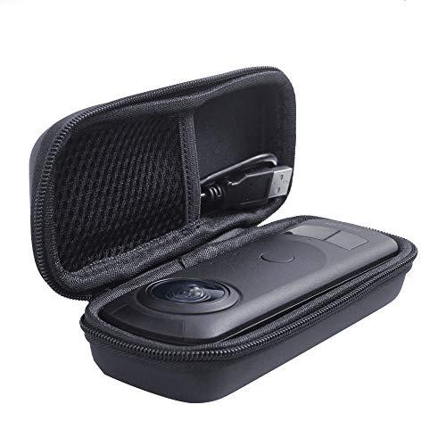 Holaca - Custodia protettiva compatibile con fotocamera Ricoh Theta z1, in EVA, colore: Nero