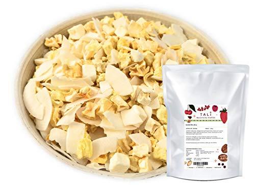 TALI Karibik-Mix 250 g - Gefriergetrocknete Ananas, Mango, Maracuja und Kokoschips