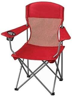 Ozark Trail Basic Mesh Chair, Red