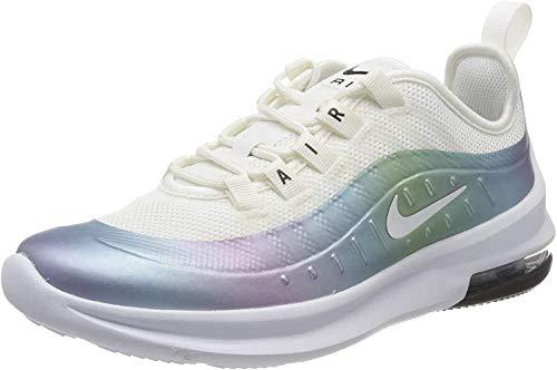 Nike Air MAX Axis (GS), Zapatillas, Blanco (Cumbre Blanco/Blanco Cerulean Negro), 38 EU
