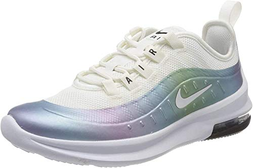 Nike Unisex-Child Air Max Axis (GS) Sneaker, Summit White/White-Cerulean-Black, 37.5 EU