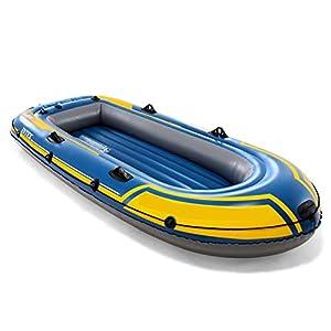 LWZ 3-Persona Kayak Inflable con la Paleta, la Bomba de Aire
