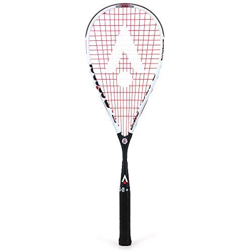 Karakal - Raqueta de Squash S 100 - Peso de Marco de 100 g para manejo Superior - Nano Grafito de Fibra rápida - Incluyendo Cubierta de tamaño Completo