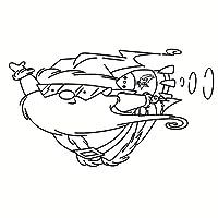 サンタクロース透明シリコーンゴムスタンプシートしがみつくスクラップブッキングDIYかわいいパターンフォトアルバムPaperCard