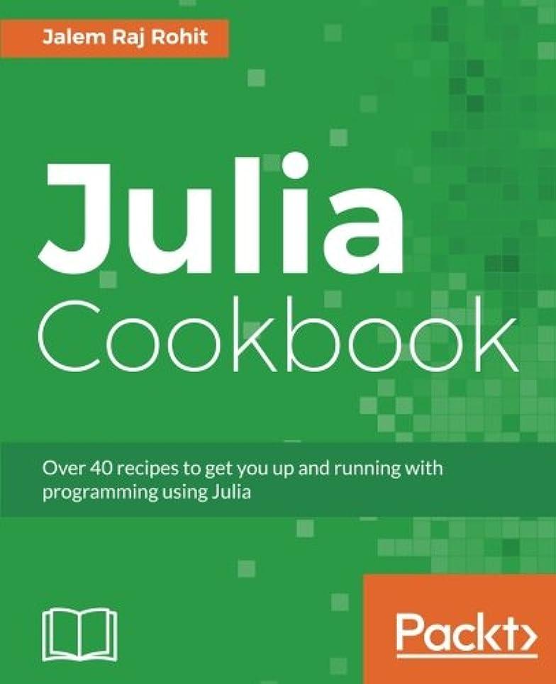 普通の分析エラーJulia Cookbook