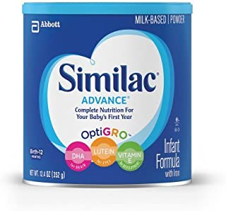 Similac Advance Infant Formula Powder with Iron (Pack of 4)
