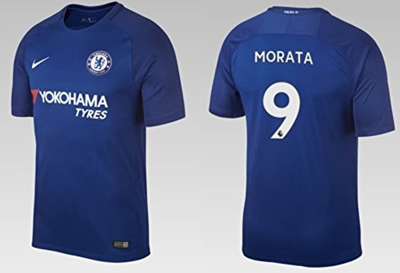 Trikot Kinder FC Chelsea 2017-2018 Home - Morata 9