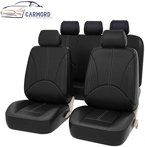 Cubiertas de asientos de auto Cuero de la PU Auto universal para el regalo...