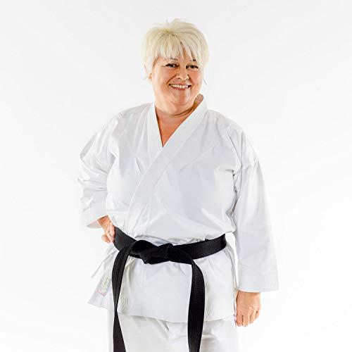 Momoko Damen Karateanzug Joseiteki 10 oz Mischgewebe leicht atmungsaktiv (170)