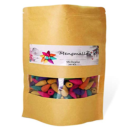 Mengmall Backflow Incense Cones Waterfall Scents