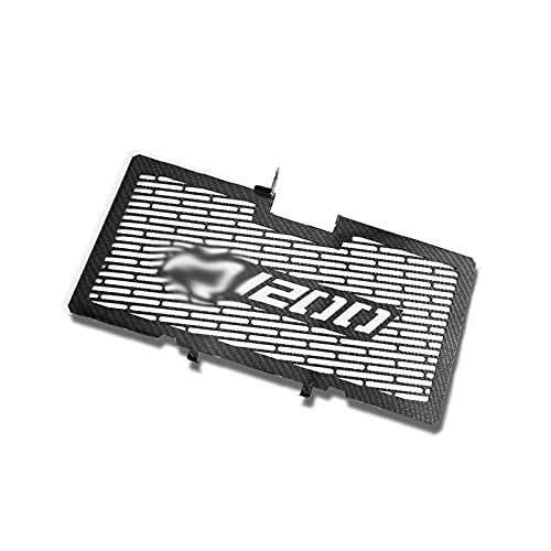 ADFIOSDO Moto radiatore Grille Guard Protector Grill Grill Cover Motor Bike/Fit per BMW R1200R R1200 R R1200RS 2014-2017 2015 2016 (Color : Carbon Colour)