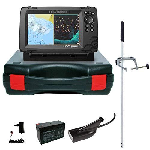 Lowrance Hook Reveal 7 83/200 HDI Echolot Portabel Master Komplettsystem