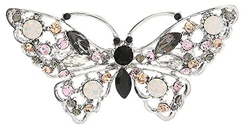 Lzpzz Broche de mariposa de estilo clásico creativo para niñas, adecuado para...