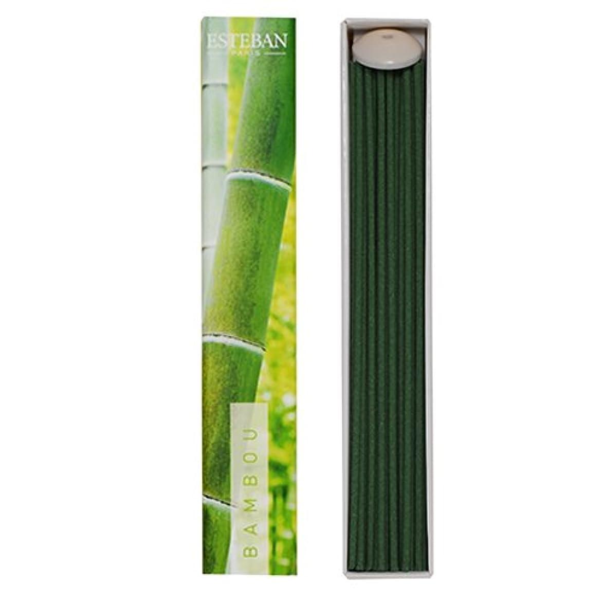位置する眉をひそめる高価なエステバンのお香 エスプリドナチュール バンブー(竹)スティック