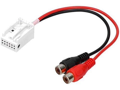 Cable Autoradio Adaptateur RCA compatible avec BMW 5 7 X5 Z3 Z4 Mini Cooper changeur CD usine