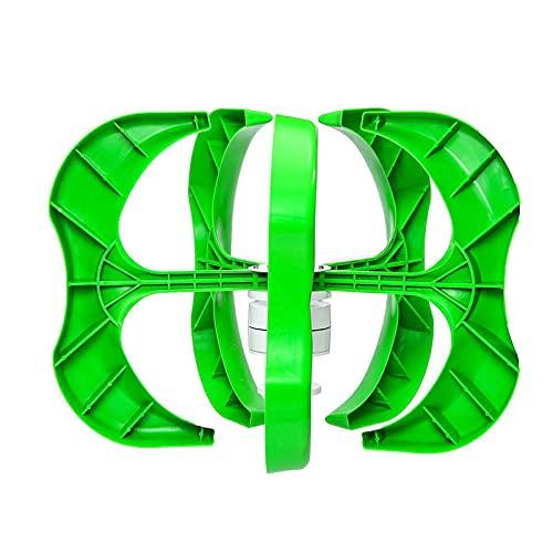 WANGYONGQI Green 5000W Axi Vertical Turbinas De Viento Generador Linterna De 5 Cuchillas Kit De Motor 12V con Controlador De Energía Eólica para Híbridos Caseros Streetlight Electromagnético,48V